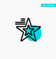 star american flag usa turquoise highlight circle vector image