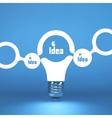 TEAM Idea concept 3d vector image vector image
