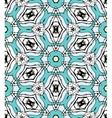 Arabesque pattern design vector image