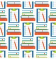 book learn literature study opened and closed vector image
