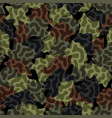 digital camouflage seamless pattern abstract army vector image vector image