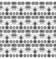 ethnic ornamental zigzag seamless pattern black vector image vector image