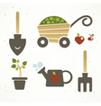 garden collection vector image vector image