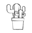 grunge ecology plants conservation inside vector image vector image