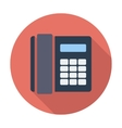 Office phone icon vector image vector image