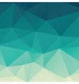 Polygonal Abstract Background vector image vector image