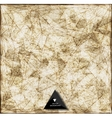 Abstract web bacground Triangles background vector image