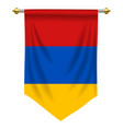 armenia pennant vector image