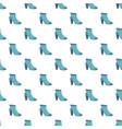 blue woman shoe pattern seamless vector image vector image