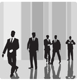 Businessmen vip-persons vector image vector image