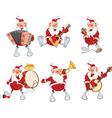 Cartoon of Santa Claus for you Design vector image