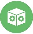 Dropbox Settings vector image