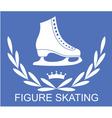 Figure skating vector image vector image