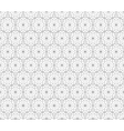 Floral seamless pattern with lines modern stylish vector image vector image