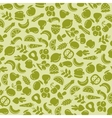 Fruit and vegetables background seamless pattern vector image vector image