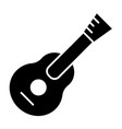 guitar solid icon music vector image