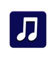 music app button vector image