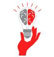 reative idea design concept reative idea design vector image vector image