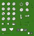 Simple design elements vector image