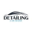 auto detailing car wash logo cleaning car