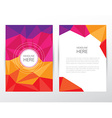 Corporate stationary Branding Template vector image vector image