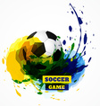football design background vector image vector image