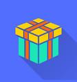 gift box surprise icon icon vector image vector image