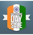 india independence day sale badge vector image vector image