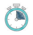 isolated chronometer design vector image vector image