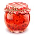raspberry jam vector image vector image
