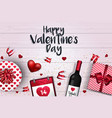 valentines day card - 2018 4 vector image vector image