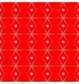 Polka dot and rhombus seamless pattern vector image