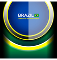 brazil color circle backgrounds vector image
