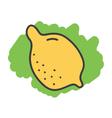 Cartoon doodle lemon