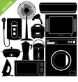 Home Appliances Electronic vector image