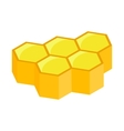 Honeycomb isometric 3d icon vector image vector image