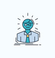 manager employee doctor person business man flat vector image vector image
