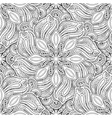 Monochrome seamless pattern with mandala motifs