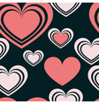 pattern heart 2 vector image vector image
