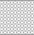 seamless pattern braided gray ribbon vector image vector image