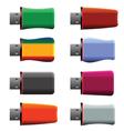 USB memory sticks vector image