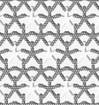 White 3d shapes on textured white and gray pattern vector image vector image