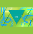 abstract background with triangle vector image vector image