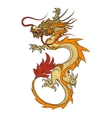 Asian dragon vector image vector image