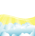 Background with clouds vector | Price: 1 Credit (USD $1)