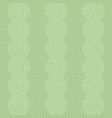 cable knit green pattern vector image vector image