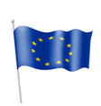 flag of european union vector image vector image