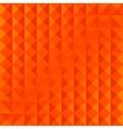 geometric orange simple pattern vector image vector image