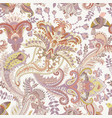 paisley pattern indian ornament for vector image vector image