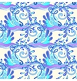 seamless decorative aquatic blue wave with sparks